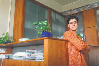 Rashneh Pardiwala, director of CERE. Pic/Santosh Nagwekar